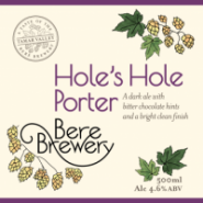 Bere Brewery Hole's Hole Porter